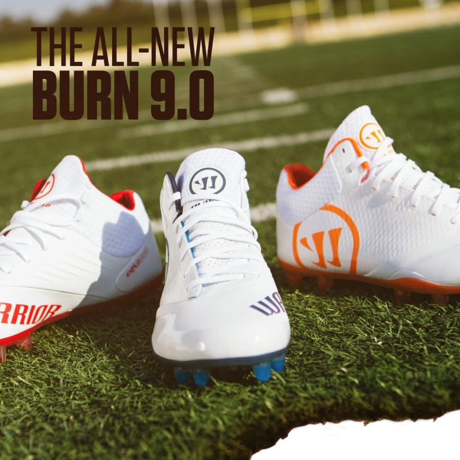 Warrior Burn 9.0 Cleats